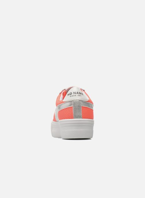 Trainers No Name Shake Print Astro Micro Suede Multicolor view from the right