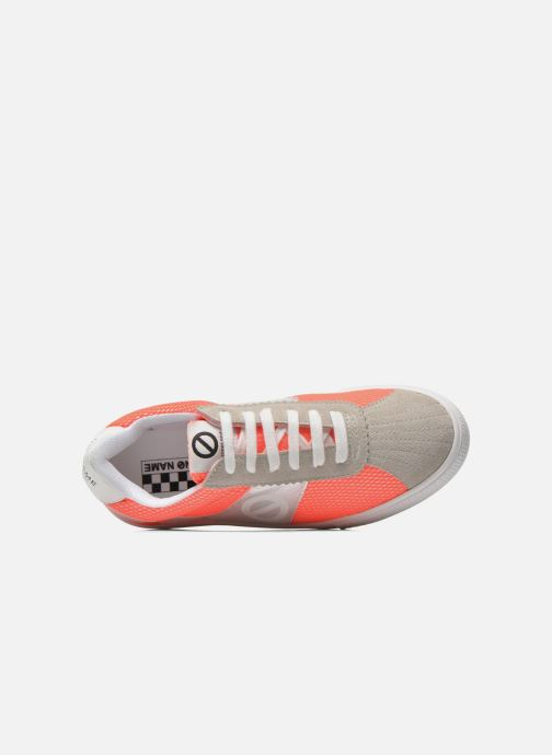Trainers No Name Shake Print Astro Micro Suede Multicolor view from the left