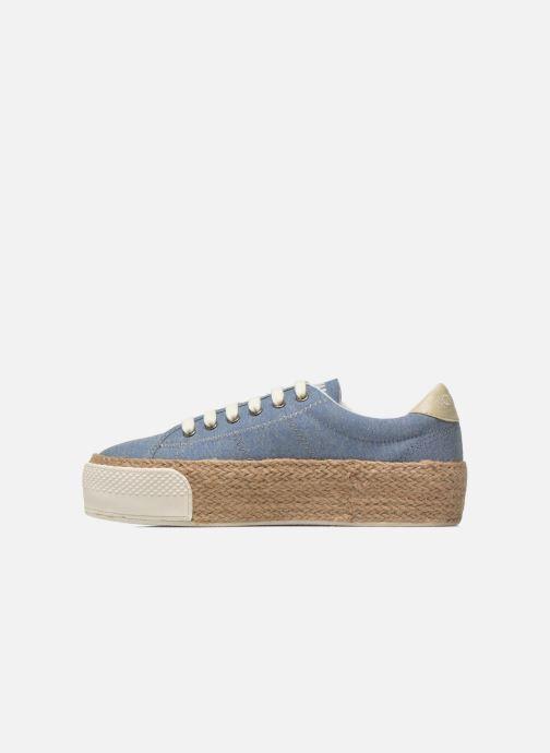 Baskets No Name Sunset Sneaker Molitor Bleu vue face