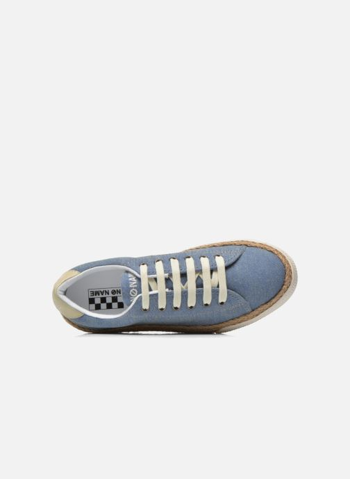 Trainers No Name Sunset Sneaker Molitor Blue view from the left