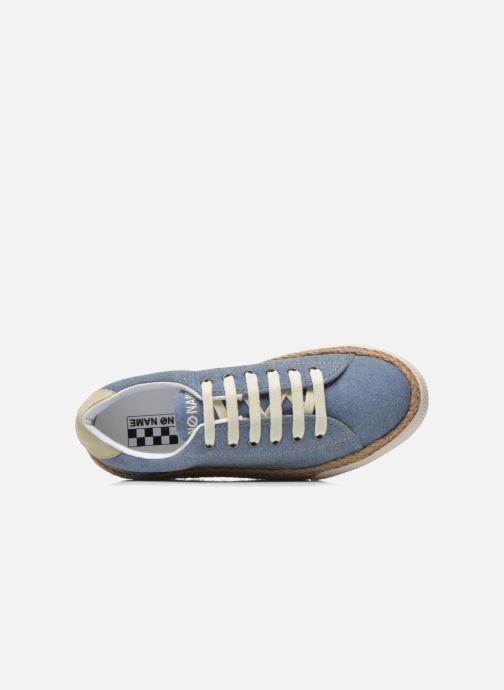 Baskets No Name Sunset Sneaker Molitor Bleu vue gauche