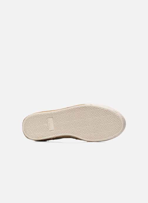 Baskets No Name Sunset Sneaker Molitor Bleu vue haut
