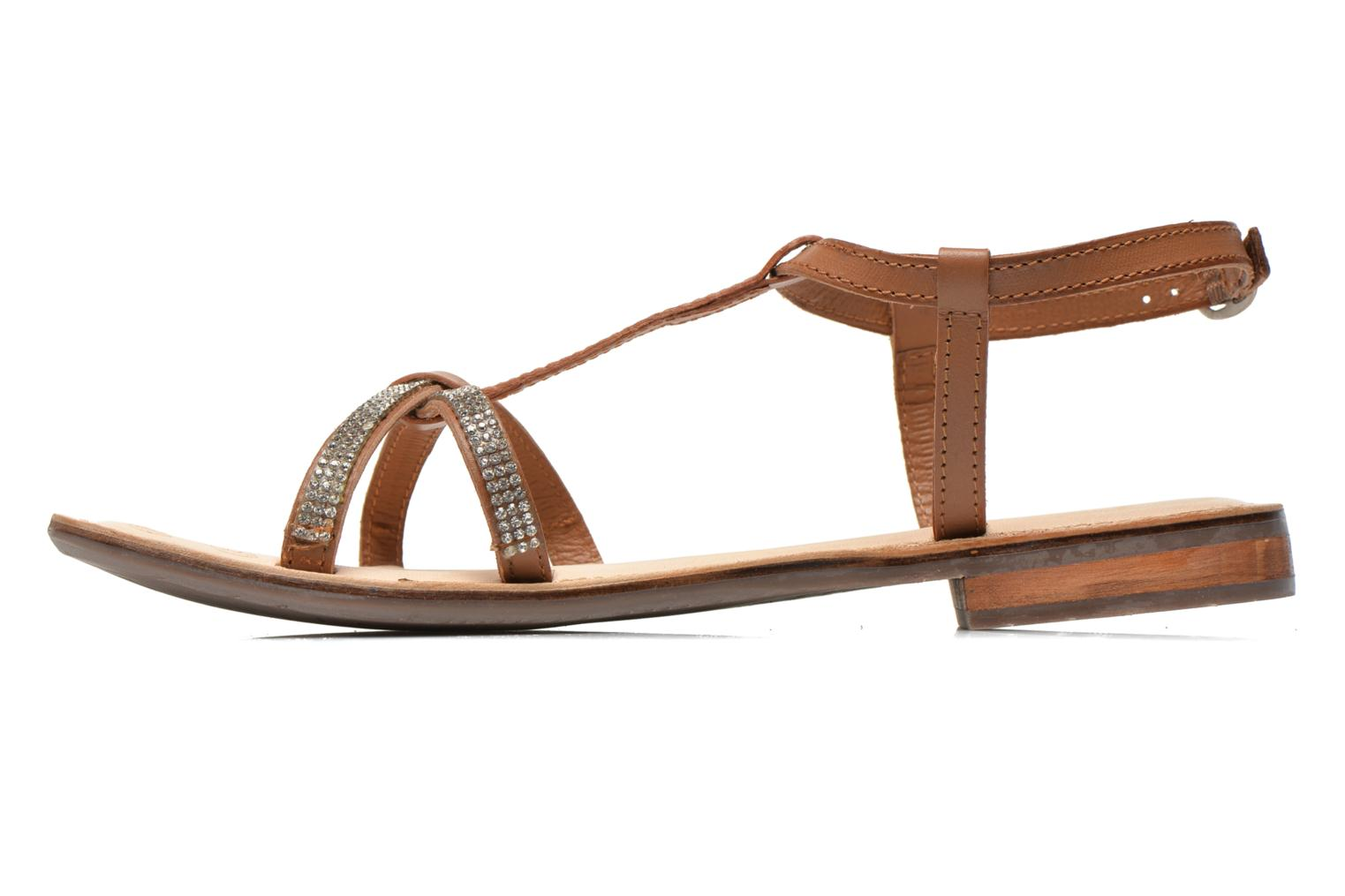 Sandals Dockers Paola Brown front view