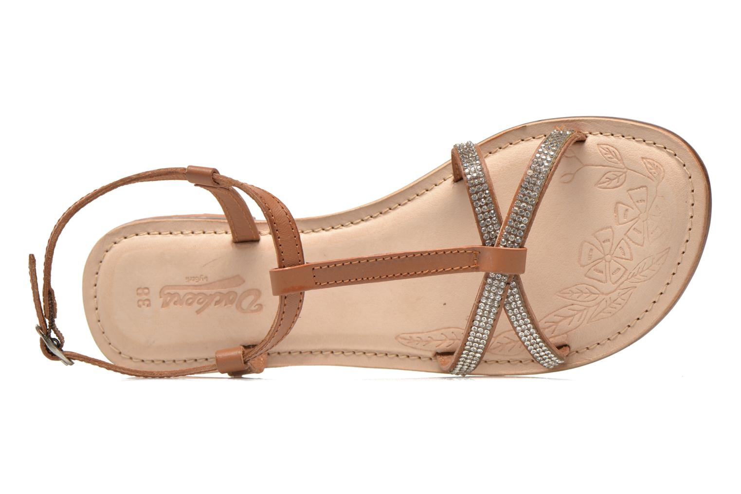 Sandals Dockers Paola Brown view from the left