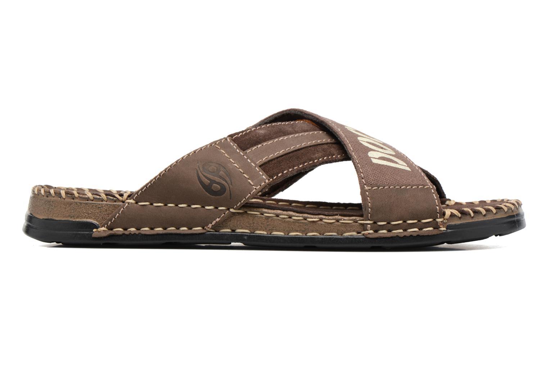 Sandales et nu-pieds Dockers xy17 Marron vue derrière
