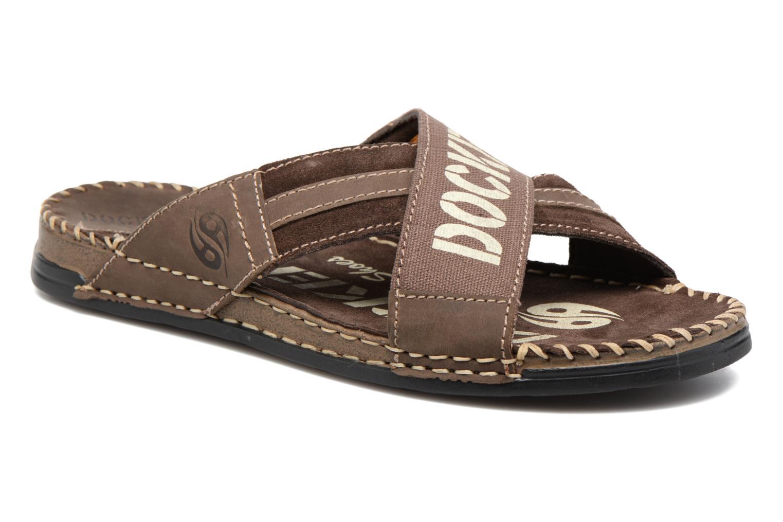 Sandales et nu-pieds Dockers xy17 Marron vue détail/paire