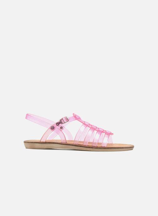 Sandales et nu-pieds Méduse Bora Rose vue derrière