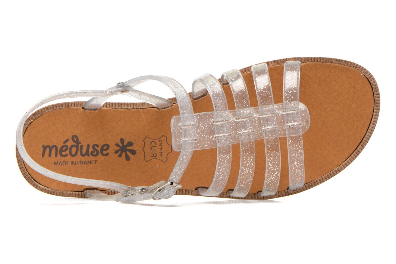 Sandales et nu-pieds Méduse Bora Argent vue gauche