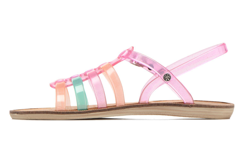 Sandales et nu-pieds Méduse Bora Rose vue face