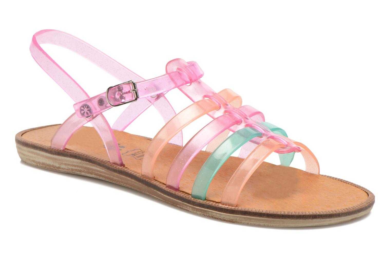 Sandales et nu-pieds Méduse Bora Rose vue détail/paire