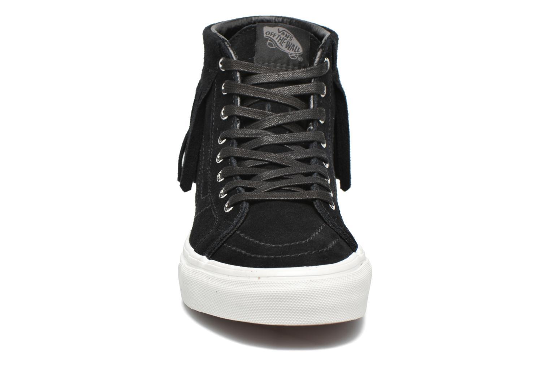 Baskets Vans SK8-Hi Moc Noir vue portées chaussures