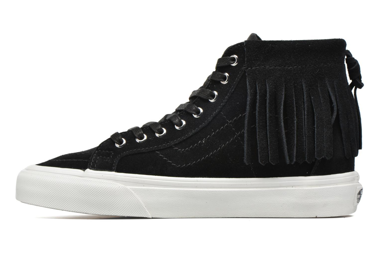 Baskets Vans SK8-Hi Moc Noir vue face