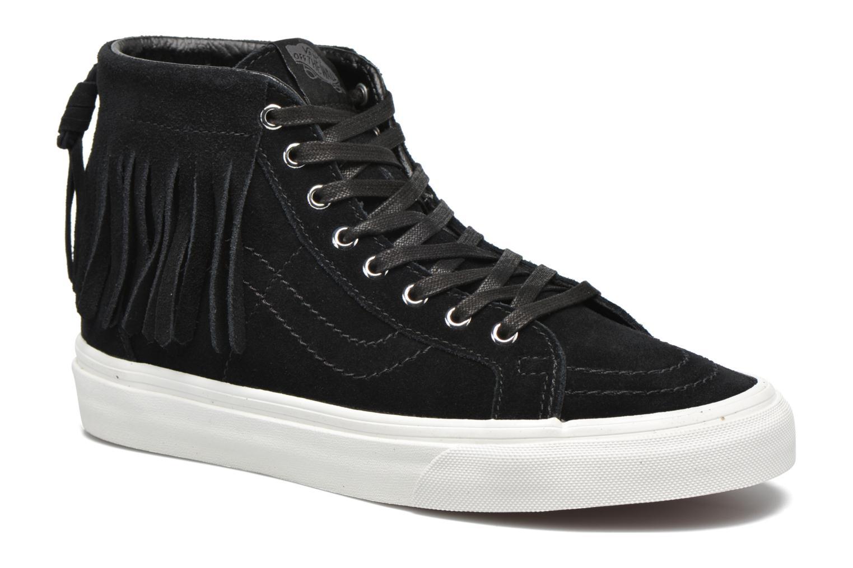 Baskets Vans SK8-Hi Moc Noir vue détail/paire