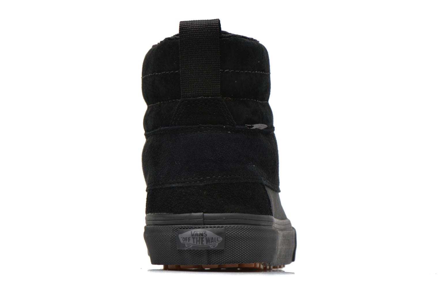 Trainers Vans SK8-Hi Del Pato MTE Black view from the right