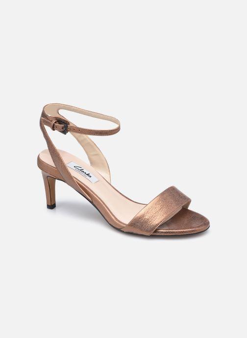 Sandales et nu-pieds Clarks Amali Jewel Marron vue détail/paire