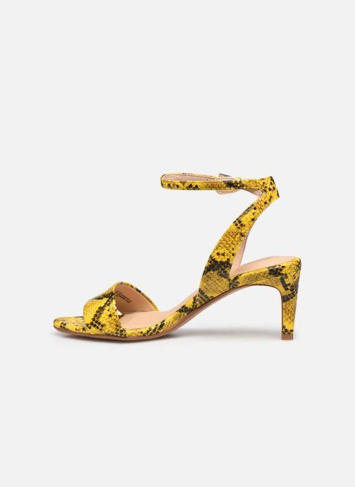 Sandales et nu-pieds Clarks Amali Jewel Jaune vue face