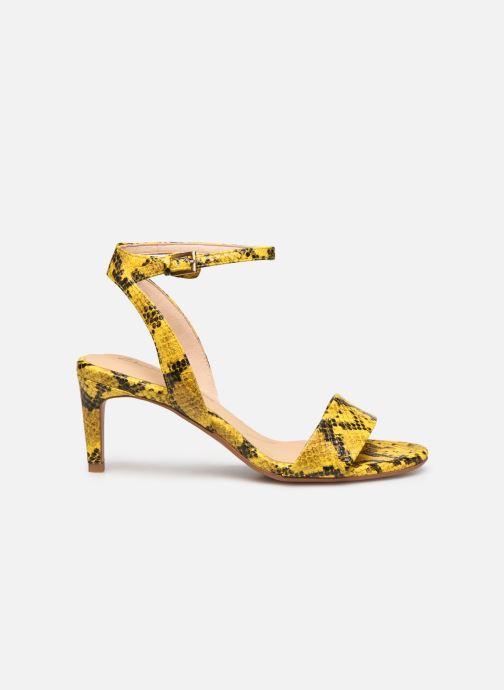 Sandales et nu-pieds Clarks Amali Jewel Jaune vue derrière
