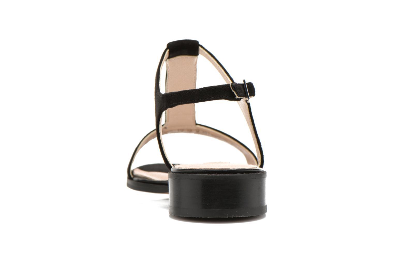 Sandales et nu-pieds Clarks Bliss Shimmer Noir vue droite