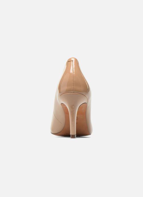 Zapatos de tacón Clarks Carlita Cove Beige vista lateral derecha
