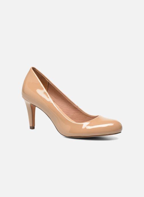 Zapatos de tacón Clarks Carlita Cove Beige vista de detalle / par