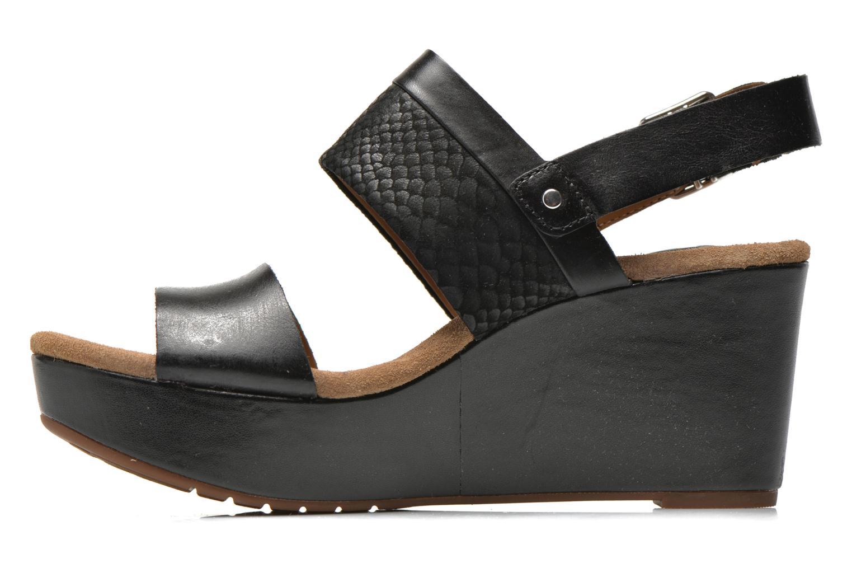 Sandales et nu-pieds Clarks Caslynn Kat Noir vue face