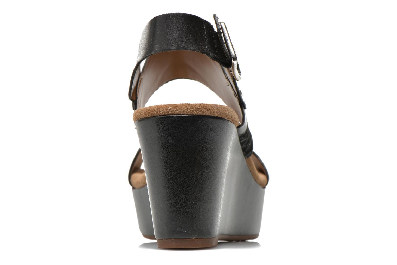 Sandales et nu-pieds Clarks Caslynn Kat Noir vue droite