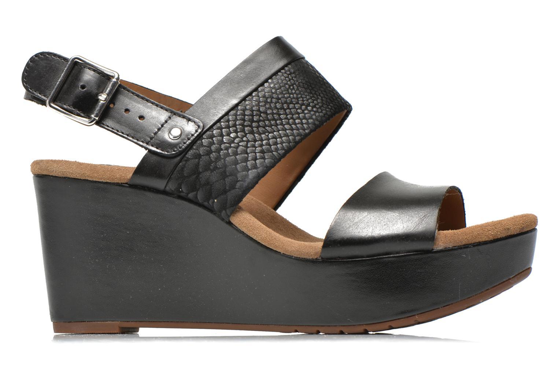 Sandales et nu-pieds Clarks Caslynn Kat Noir vue derrière