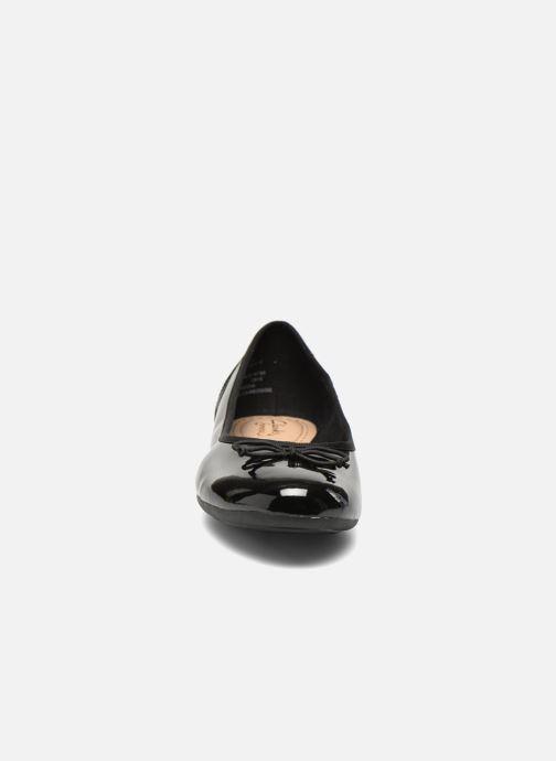 Ballerinas Clarks Couture Bloom schwarz schuhe getragen