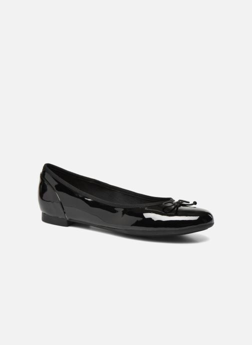 Bailarinas Clarks Couture Bloom Negro vista de detalle / par