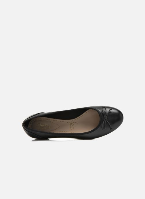 Ballerina's Clarks Couture Bloom Zwart links