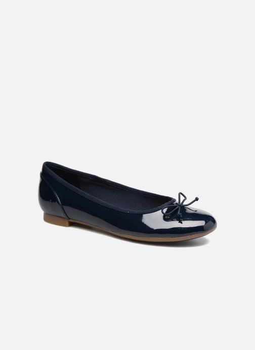 Ballerinaer Clarks Couture Bloom Blå detaljeret billede af skoene