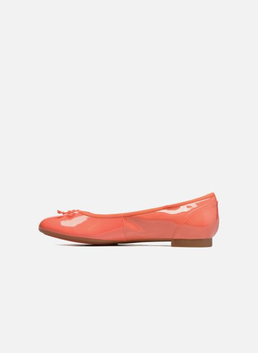 Ballerina's Clarks Couture Bloom Roze voorkant