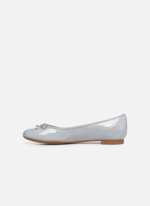 Bailarinas Clarks Couture Bloom Gris vista de frente