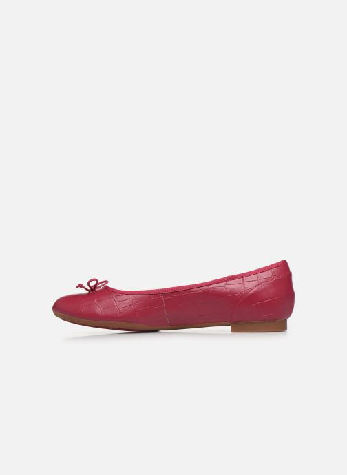 Bailarinas Clarks Couture Bloom Rosa vista de frente
