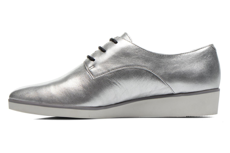 Chaussures à lacets Clarks Cressida Grace Argent vue face