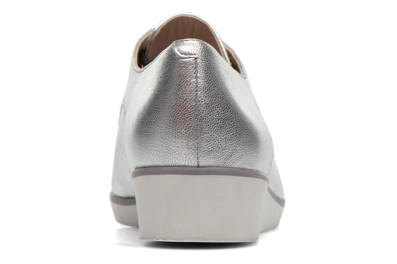 Chaussures à lacets Clarks Cressida Grace Argent vue droite