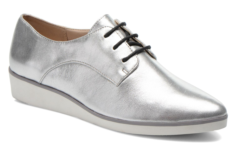 Chaussures à lacets Clarks Cressida Grace Argent vue détail/paire