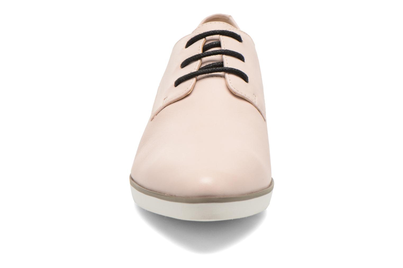 Chaussures à lacets Clarks Cressida Grace Rose vue portées chaussures