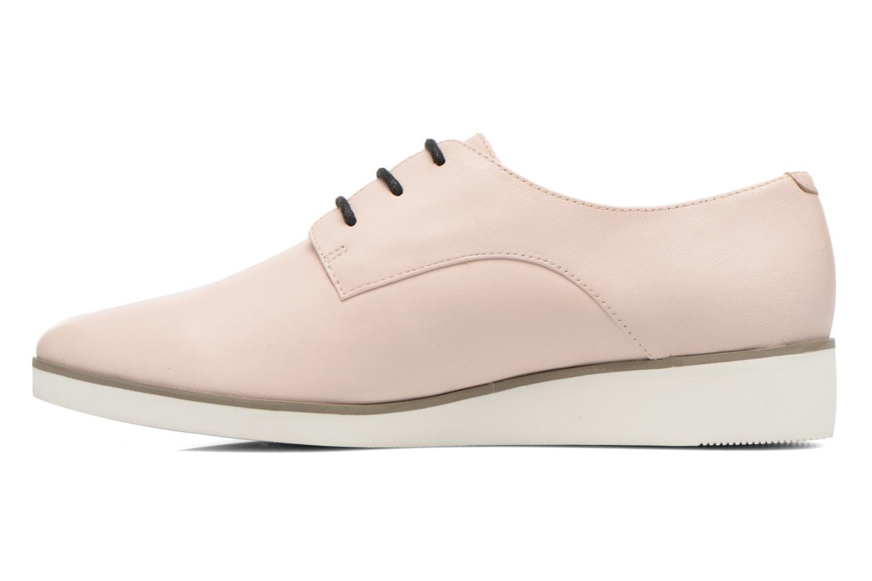Chaussures à lacets Clarks Cressida Grace Rose vue face