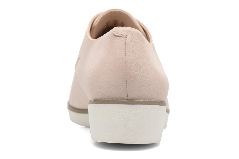 Chaussures à lacets Clarks Cressida Grace Rose vue droite
