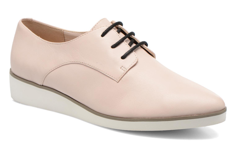 Chaussures à lacets Clarks Cressida Grace Rose vue détail/paire