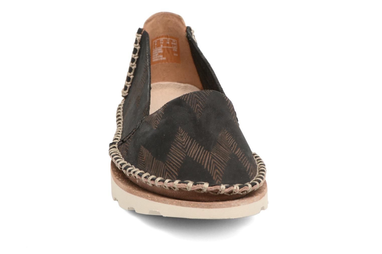Espadrilles Clarks Damara Chic Noir vue portées chaussures