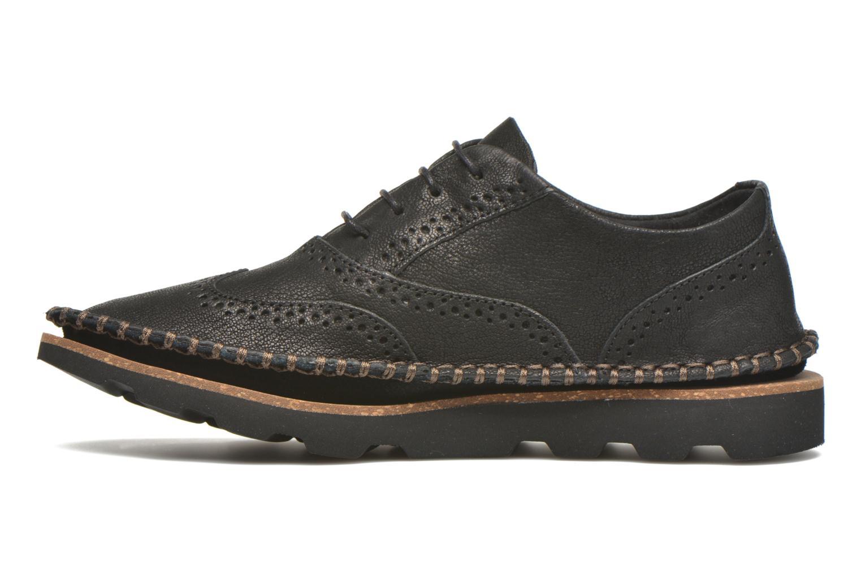 Chaussures à lacets Clarks Damara Rose Noir vue face