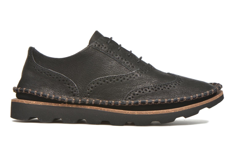 Chaussures à lacets Clarks Damara Rose Noir vue derrière