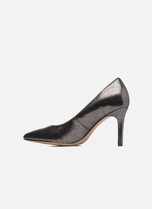 Zapatos de tacón Clarks Dinah Keer Plateado vista de frente