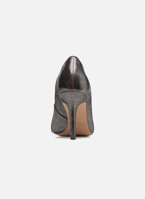 Zapatos de tacón Clarks Dinah Keer Plateado vista lateral derecha