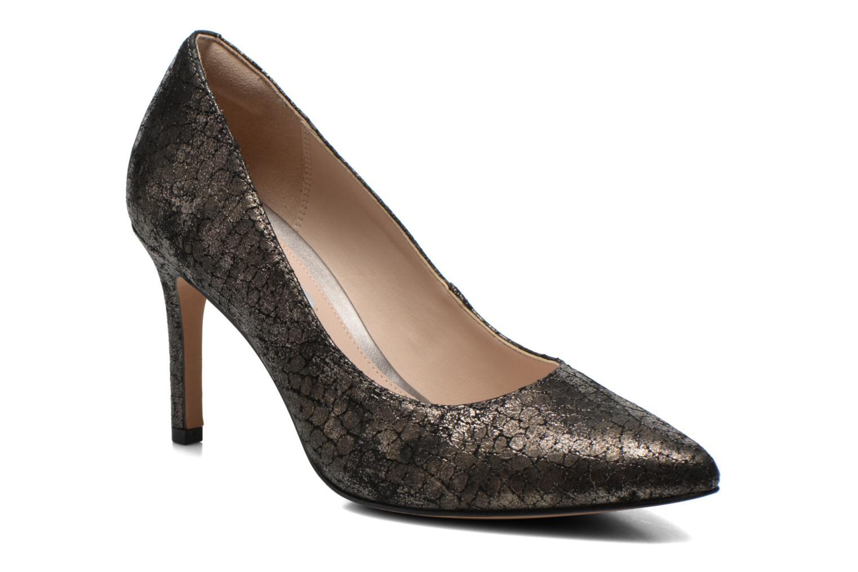 Escarpins Clarks Dinah Keer Or et bronze vue détail/paire