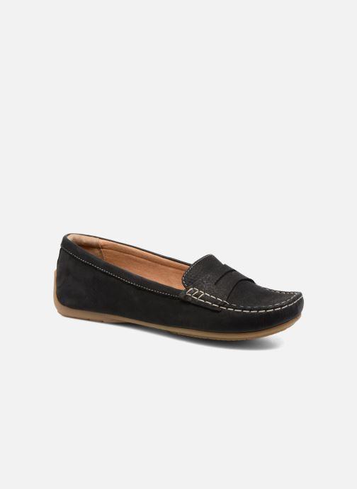 Loafers Clarks Doraville Nest Sort detaljeret billede af skoene