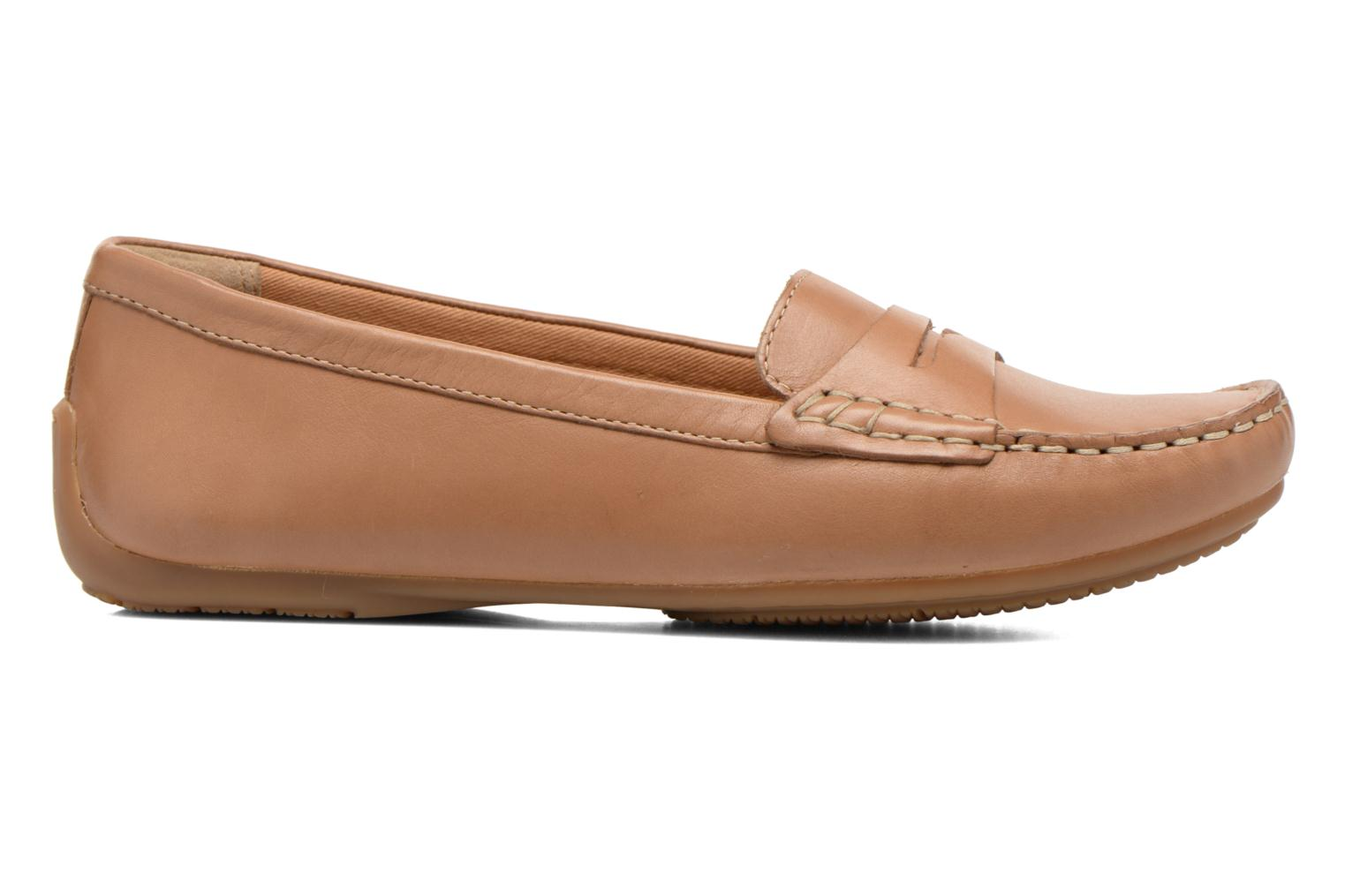 Loafers Clarks Doraville Nest Brown back view