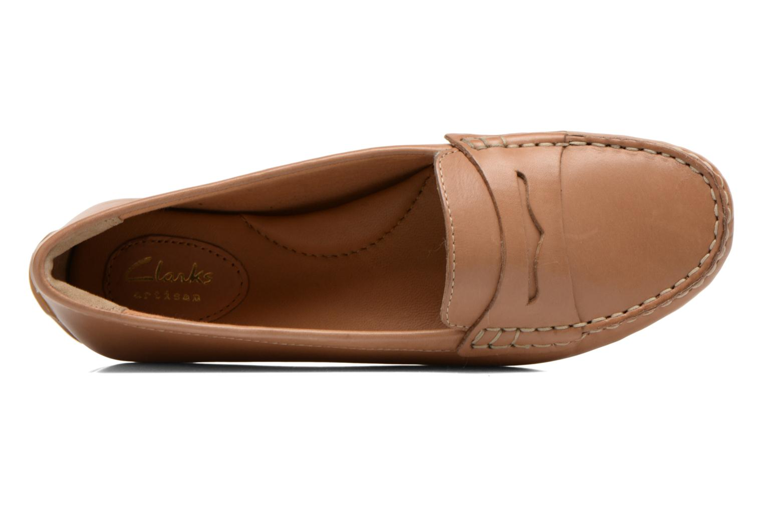 Loafers Clarks Doraville Nest Brown view from the left